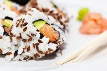 Sushi - Asian healthy food.