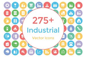275+ Industrial Vector Icons
