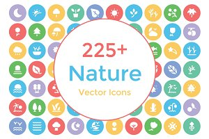 225+ Nature Vector Icons