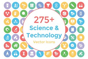 275+ Science and Technology Icons