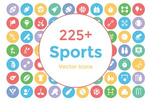 225+ Sports Vector Icons