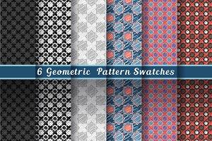 Geometric Red-Gray-Blue