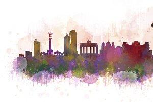 Berlin Cityscape Skyline