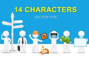 14 - 3d characters