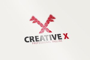 Creative / X Letter Logo