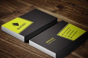 Editor Business Card Template