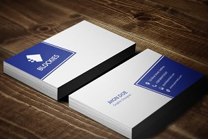Editor Business Card Template