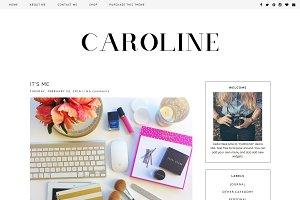 "Blogger Template ""Caroline"""