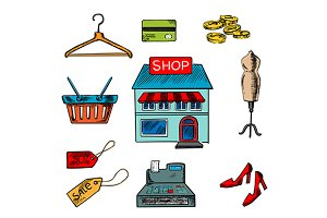Shopping design elements