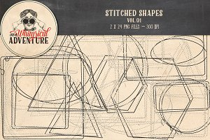 Stitched Shapes Vol.01