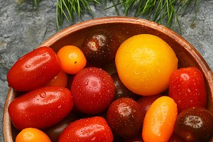Bowl of Medley Tomatoes