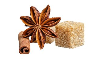 Sweets and spices. Still life