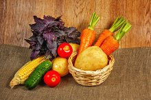 Fresh vegetables. Vegetarian food
