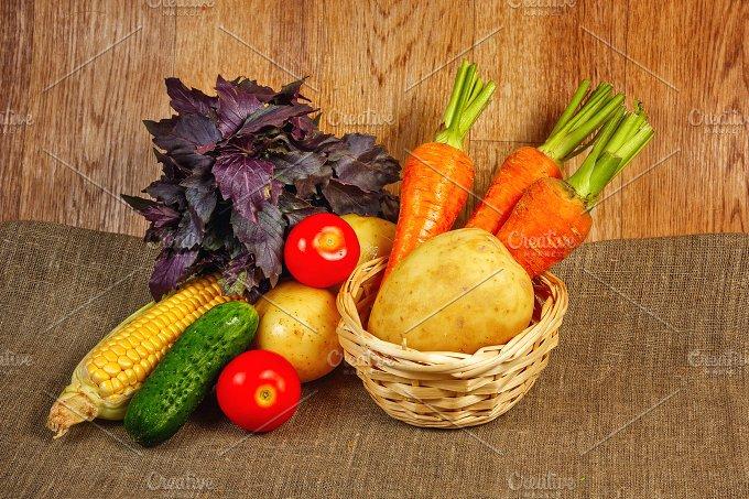 Fresh vegetables. Vegetarian food - Food & Drink
