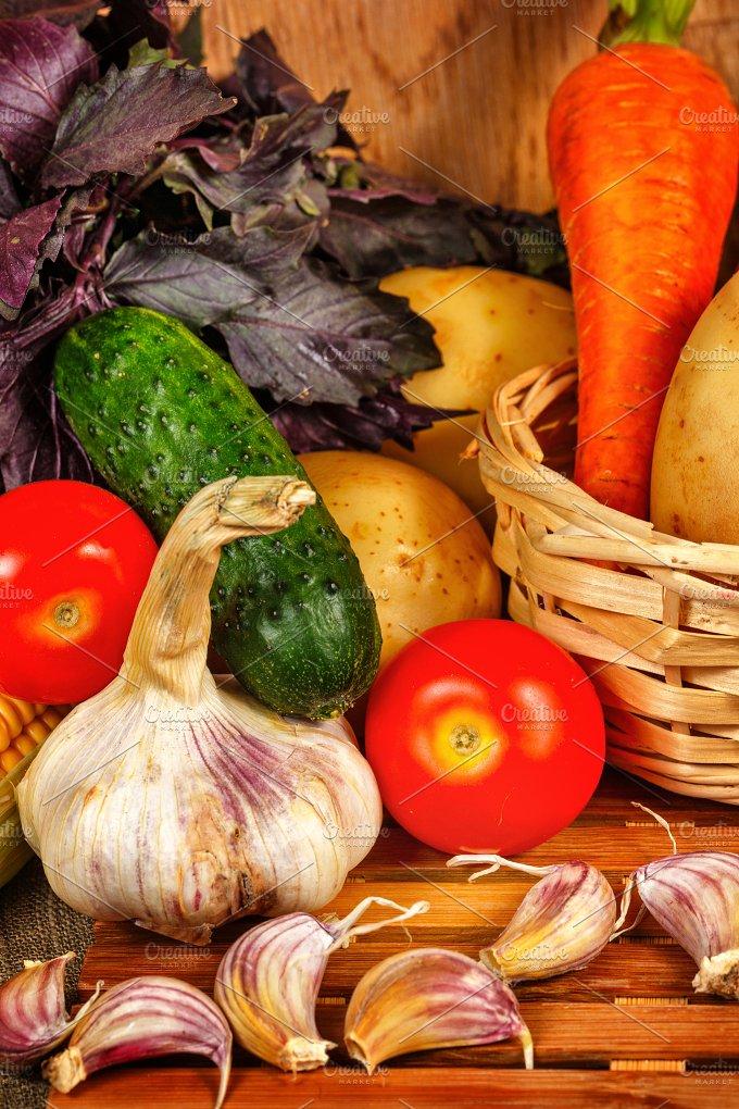 Fresh vegetables. Holiday harvest. - Food & Drink