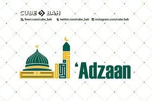 Logo Kufi 'Adzaan Mosque