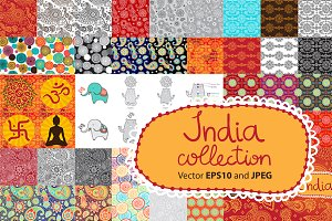 India collection in Vector and JPEG