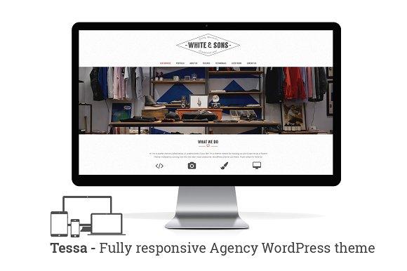 Tessa - Wordpress theme