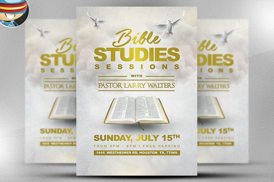 flyer heroes flyerheroes christian flyer templates collection bible study flyer template 2