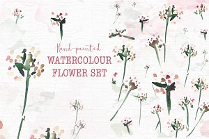 Spring watercolour set