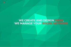 Studio Website Isometric PSD