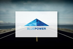 BluePower - Logo Design