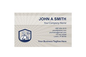 Business Card Template Chef Cook Hol