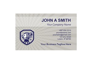 Business Card Template Movie Film Ca
