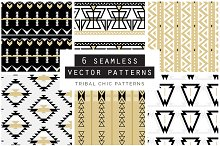 Tribal Seamless Vector Patterns