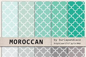 Moroccan digital papers