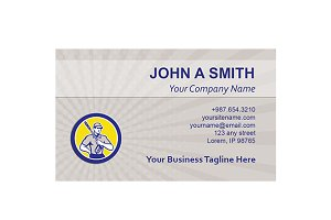 Business Card Template Pressure Wash