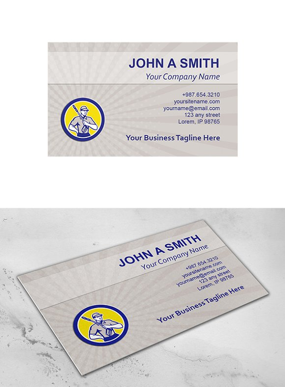 Business card template pressure wash business card templates business card template pressure wash business cards friedricerecipe Image collections