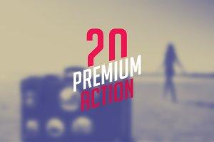 20 Premium Actions