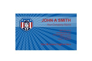 Business Card Template American Secu
