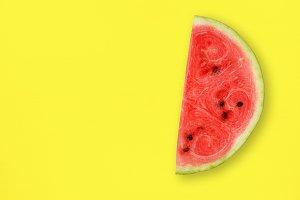 Watermelon slice