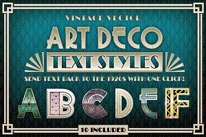 Art Deco Styles
