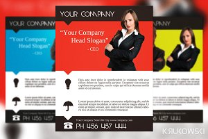 Clear Company Flyer Template
