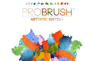 41 Artistic Brushes - ProBrush™