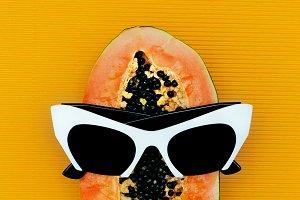 Papaya and Sunglasses