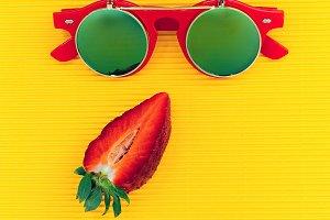 Red Sunglasses fashion
