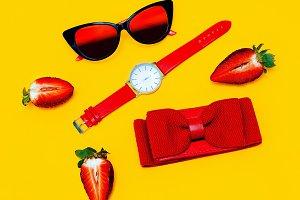 Fashion Red Set