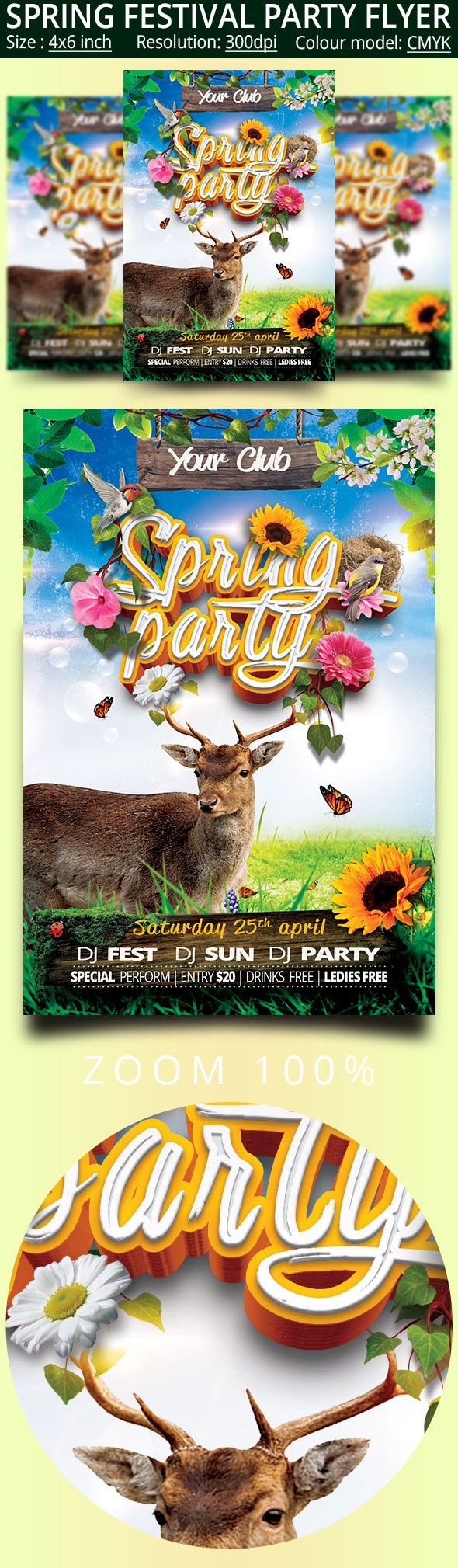 letter about party festival flyer flyer templates creative 6839