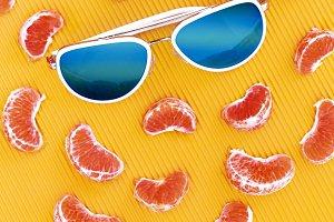 Summer bright orange mix