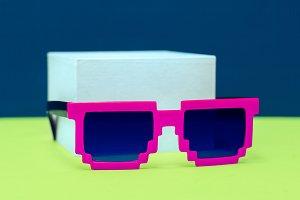 Geometry sunglasses fashion