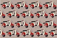 Pattern motobike