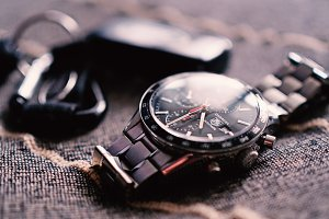 Tag Heuer Carrera Wristwatch.
