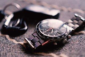 Tag Heuer Carrera Wristwatch.