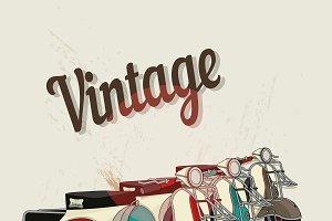 Motobikes vintage