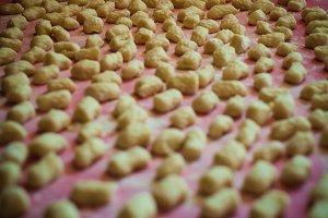 homemade potato gnocchi, Italy