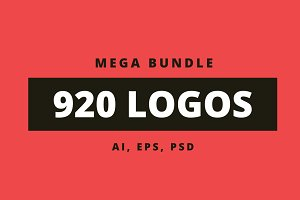 920 Logos Mega Bundle